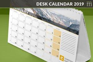 Desk Calendar 2019 (DC034-19)