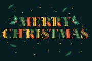 Aires Christmas SVG Color Font