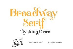 Broadway Serif