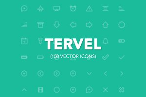 Tervel - Vector Stroke Icons iOS7