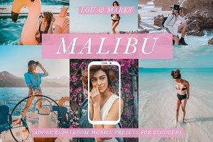 Malibu Blogger Mobile Presets
