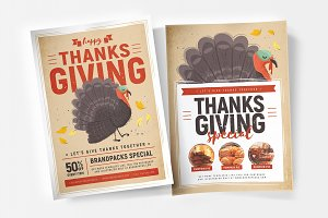 Thanksgiving Flyer / Poster v1