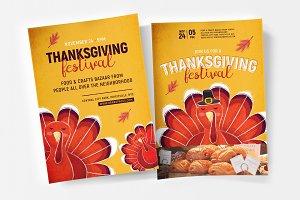 Thanksgiving Flyer / Poster v2