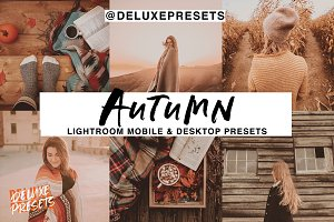 Autumn Lightroom Mobile/Desk Preset
