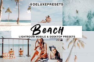 Beach Lightroom Mobile/Desk Preset