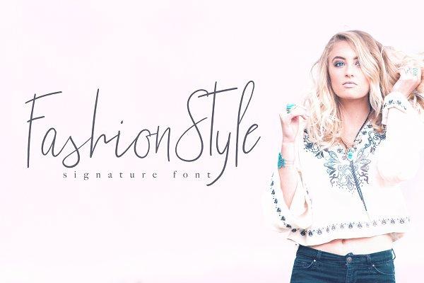 Fashion Style Font