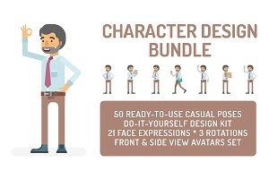 Office worker design bundle