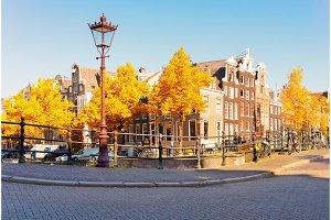 Houses of Amstardam, Netherlands