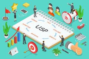 USP - unique selling proposition