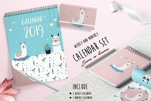 Adorable animal calendar 2# 2019