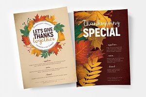 Thanksgiving Flyer / Poster v3