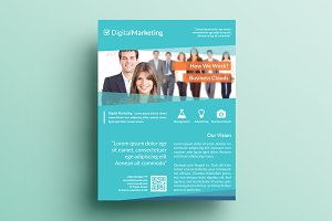 Creative Marketing Flyer V12