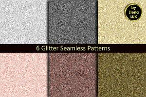Glitter Seamless Pattern Set