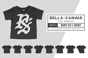 Bella Canvas 3001B Baby T-Shirt
