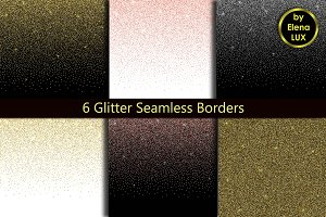 Glitter Seamless Border Set