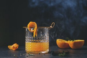 Whiskey orange Cocktail
