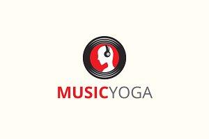 Music Yoga Logo