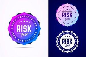 Risk free badge.