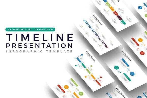 Timeline Presentation Infographic Presentation Templates