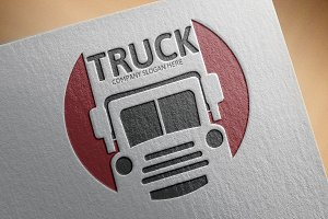 Truck Transport Logo