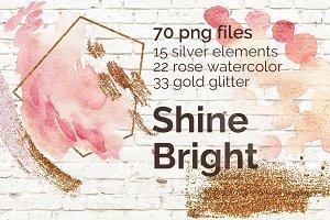ShineBright|PNG|70 elements+5 bonus