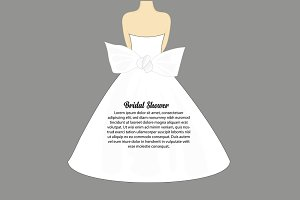 Bridal Shower Illustrations