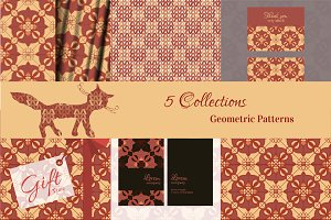 №8 Seamless geometric patterns