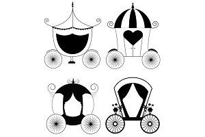 Carriage Set Illustration Design