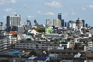 Skyline of Thai's Capital Bangkok