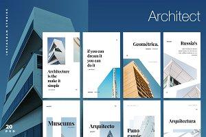 Architect - Instagram stories