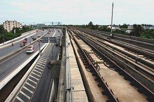 Railways and Highway in Bangkok