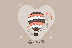 Love In The Air Hot Air Balloons