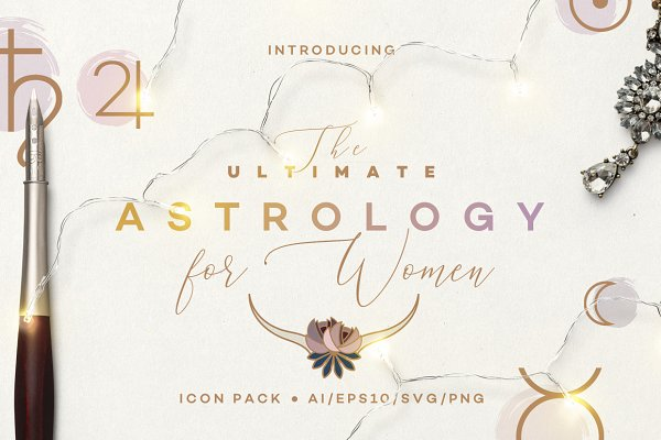 The Ultimate Astrology Icon Pack