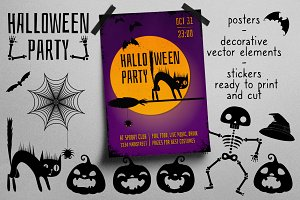 Graphic kit for Halloween decoration