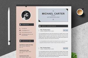 Modern Resume / CV Template | 3 Page