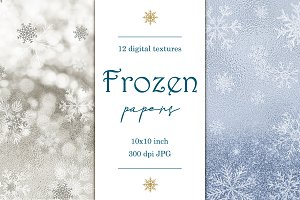 Frozen digital paper pack