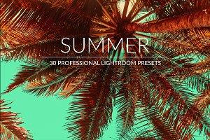 Summer Lr Presets