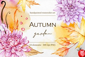 Autumn illustrations clipart