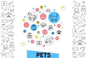 Pets care template