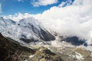 Tour du Mont-Blanc de Voza,France