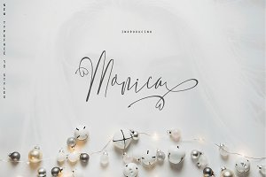 Monica- 10 Elegant Font