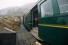 Train In Montenvers Mer de Glace
