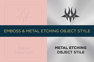 Emboss & Metal Etching Object Style