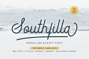 Southfilla-The Perfect Curves Font