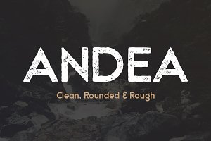 Andea - Geometric Sans Serif Font