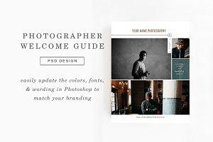 Photographer Magazine Template
