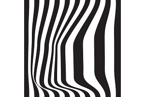 Striped seamless abstract background
