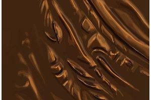 abstract vector metal bronze