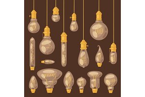 Light bulb vector lightbulb idea
