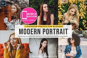 Modern Portait Presets Lightroom
